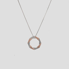 Load image into Gallery viewer, Rose Gold Origami Pendant