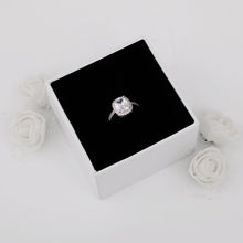 Load image into Gallery viewer, Silver Classic Solitaire Ring