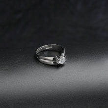 Load image into Gallery viewer, Silver Solitaire Band For Him