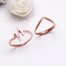 Load image into Gallery viewer, Rose Gold Heartbeat Wish Set