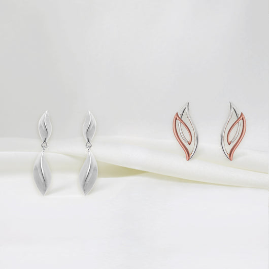 Twin Flame Earrings