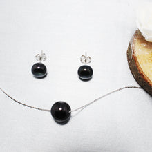 Load image into Gallery viewer, Black Pearl Beauty Set-GIVA Jewellery