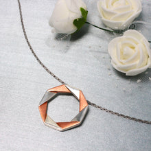 Load image into Gallery viewer, Rose Gold Origami Pendant-GIVA Jewellery