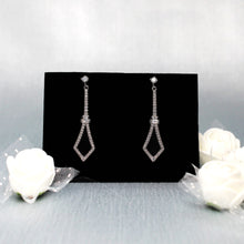 Load image into Gallery viewer, Spear Silver Earrings