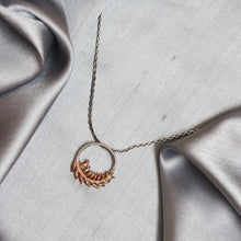 Load image into Gallery viewer, Rose Gold Feather Pendant-GIVA Jewellery