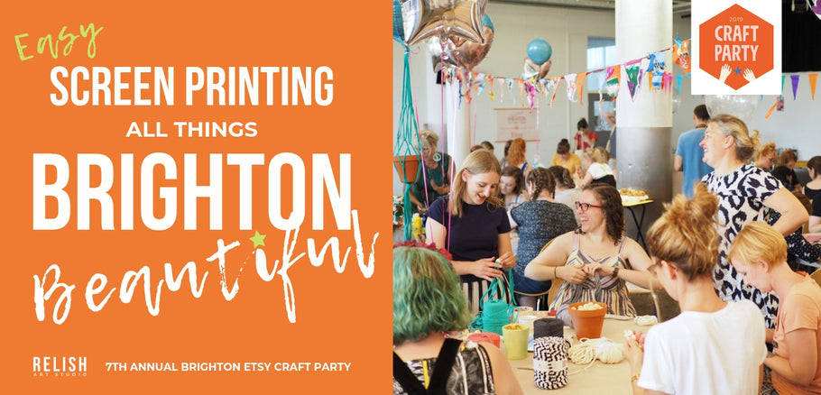 7th Annual Brighton Etsy Craft Party