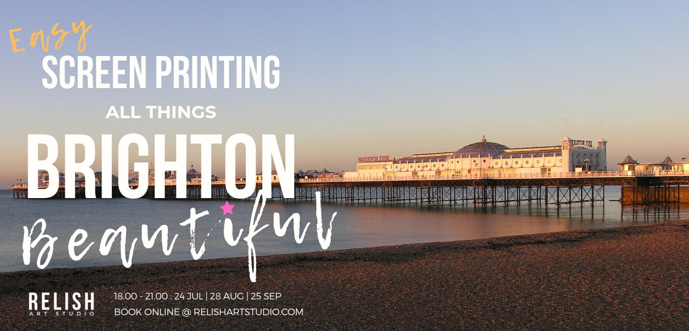Up Coming Screen Printing Workshops Brighton