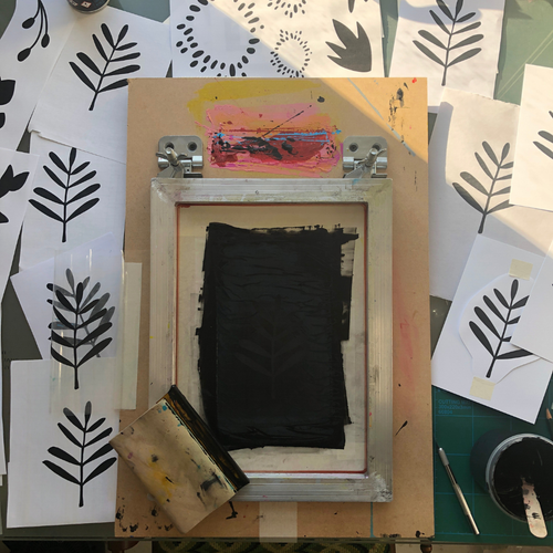 Studio Tour & Screen Printing for Two - Relish Art Studio
