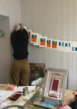 Load image into Gallery viewer, Screen Printing on Paper & Textiles | October Morning Session - Relish Art Studio