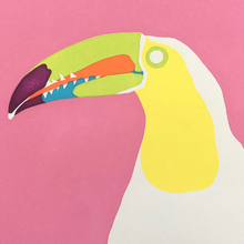 Load image into Gallery viewer, 'Gerry' the Keel-billed Toucan - Relish Art Studio