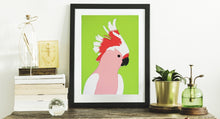 Load image into Gallery viewer, 'Elvis' the Pink Cockatoo - Relish Art Studio