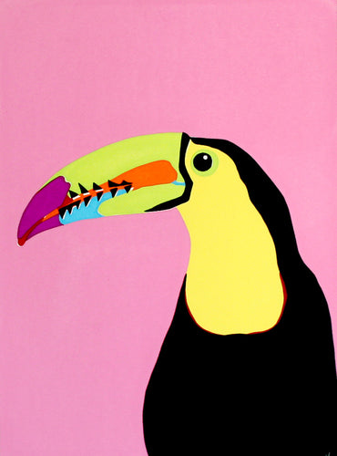 'Gerry' the Keel-billed Toucan - Relish Art Studio