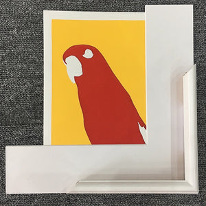 'Red' the Red Lory Parrot - Relish Art Studio