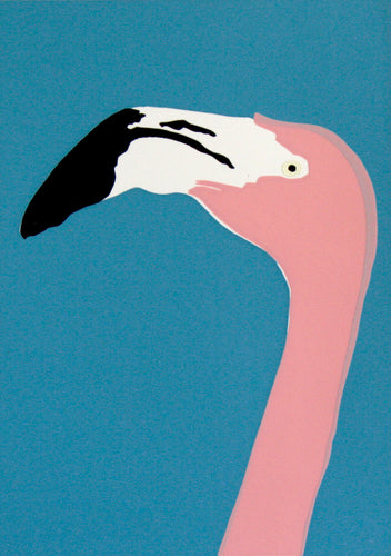 'Maude' the American Flamingo - Relish Art Studio