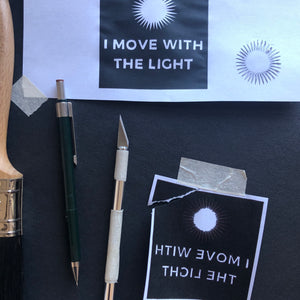 I Move With The Light - Relish Art Studio