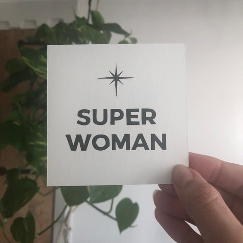Super Woman - Relish Art Studio