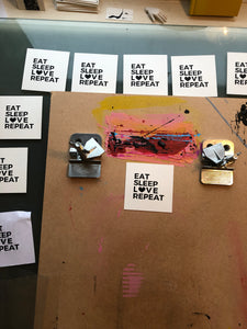 Eat Sleep Love Repeat - Relish Art Studio