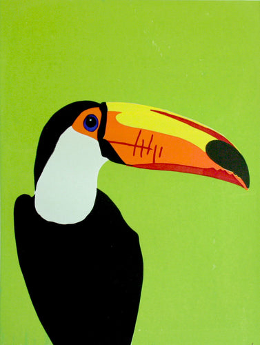 'Stan' the Toco Toucan - Relish Art Studio