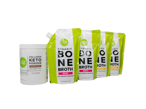 One month supply of Bone Broth +  Collagen Keto Powder