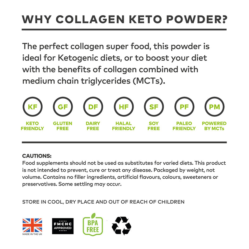Collagen Keto Powder 340g