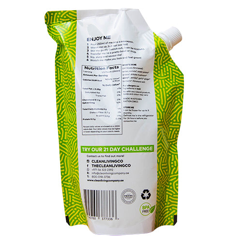 Vegan Broth - 500 ml (minimum 2 pouches, 48 hour delivery)