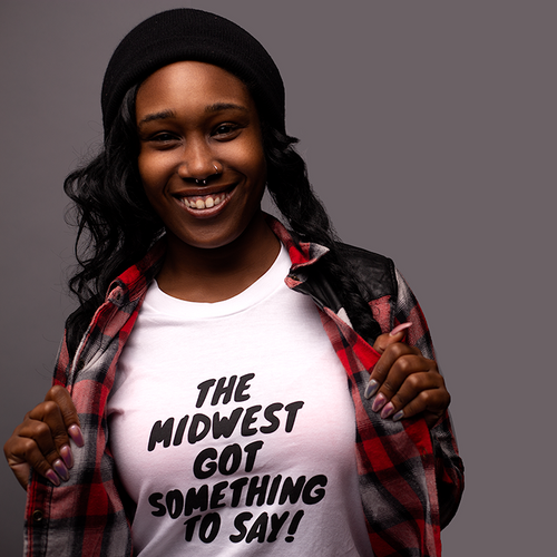 Midwest Got Something to Say! Unisex Crewneck