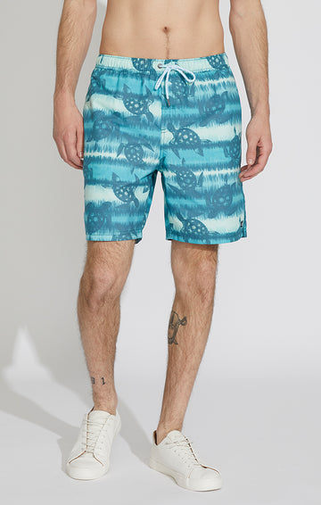 Turtle Swim Volley Trunks