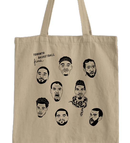 Toronto Basketball Friends Tote