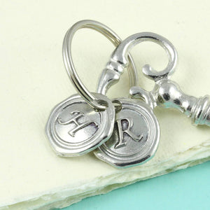 Ket to my Heart Pewter Key Keyring - Multiply Design