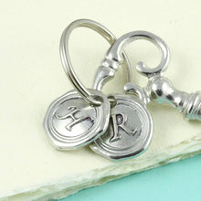 Load image into Gallery viewer, Key to Happiness/ Key to Love/ Key to Luck/ Key to Success/ Pewter key Keyring. - Multiply Design