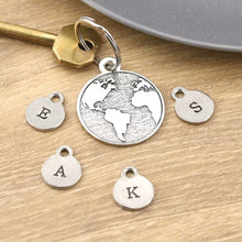 Load image into Gallery viewer, You Are My World Personalised Pewter Keying - Multiply Design
