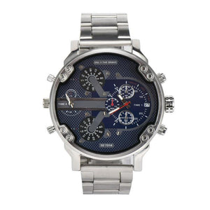 Men's Luxury Stainless Steel Analog
