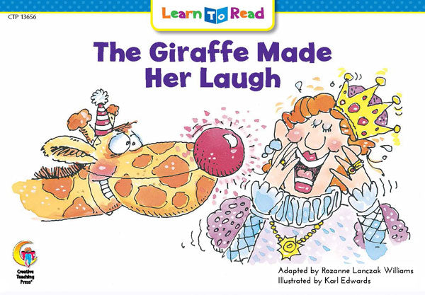 The Giraffe Made Her Laugh
