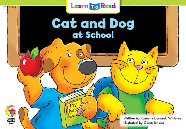 Cat and Dog at School