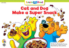 Cat and Dog Make a Super Snack