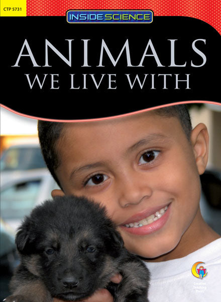 Animals We Live With Nonfiction Science Reader