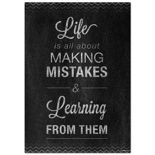 Mistakes Inspire U Poster