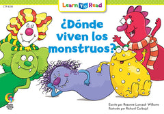 Donde Viven Los Monstruos? (Where Do Monsters Live?)