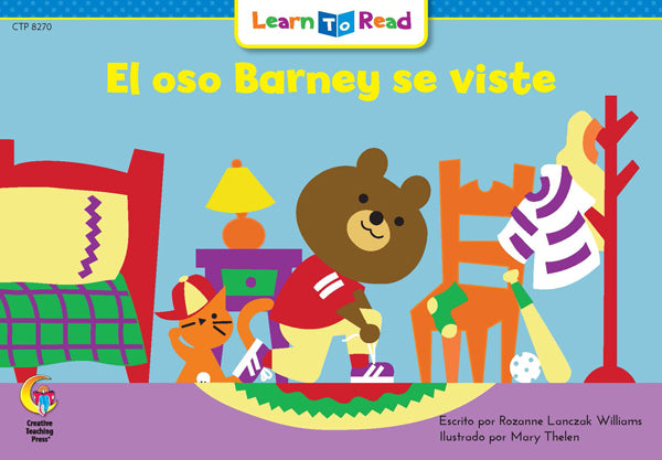 El Oso Barney Se Viste (Barney Bear Gets Dressed)