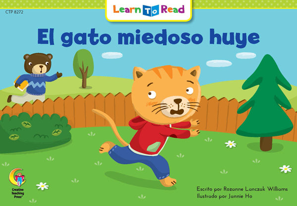 El Gato Miedoso Huye (Scaredy Cat Runs Away)