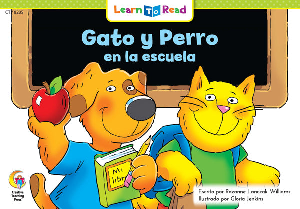 Gato Y Perro En La Escuela (Cat And Dog At School)