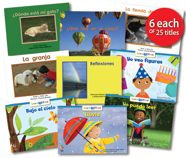 Leveled Library , Level C Set (Spanish)