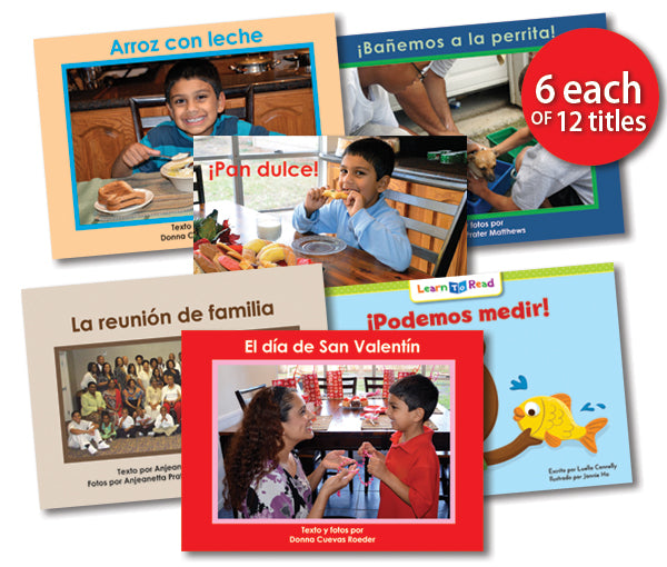 Leveled Library , Level F Set (Spanish)