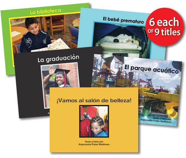 Leveled Library , Level G Set (Spanish)