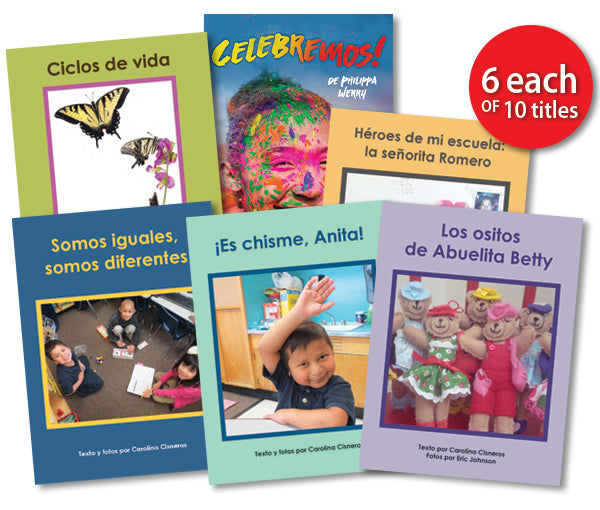 Leveled Library , Level J Set (Spanish)