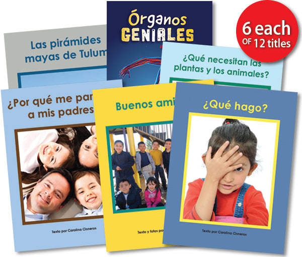 Leveled Library , Level M Set (Spanish)