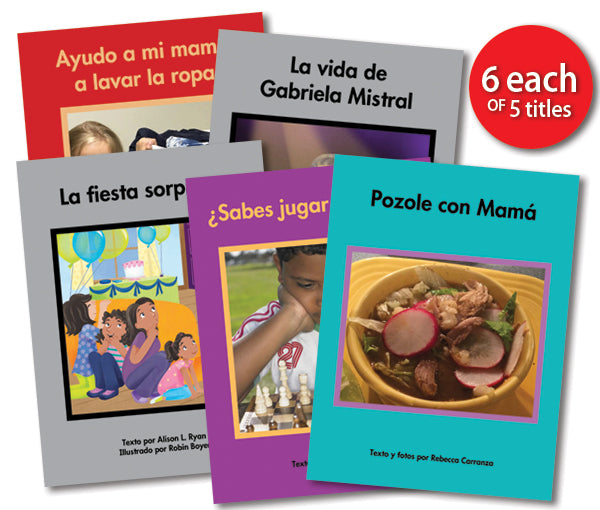 Leveled Library , Level N Set (Spanish)