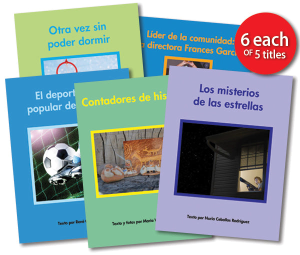 Leveled Library , Level Q Set (Spanish)