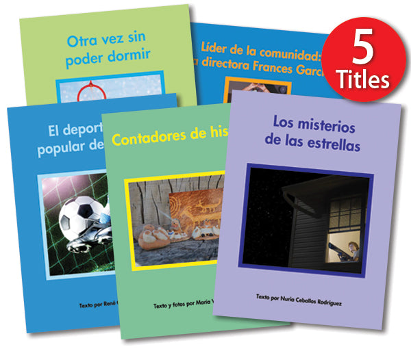 Leveled Library (single copy), Level Q, Spanish
