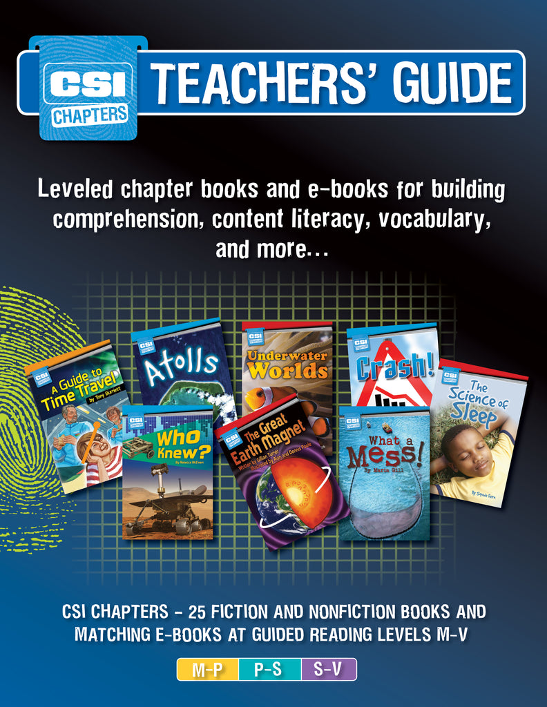CSI chapters teacher's guide